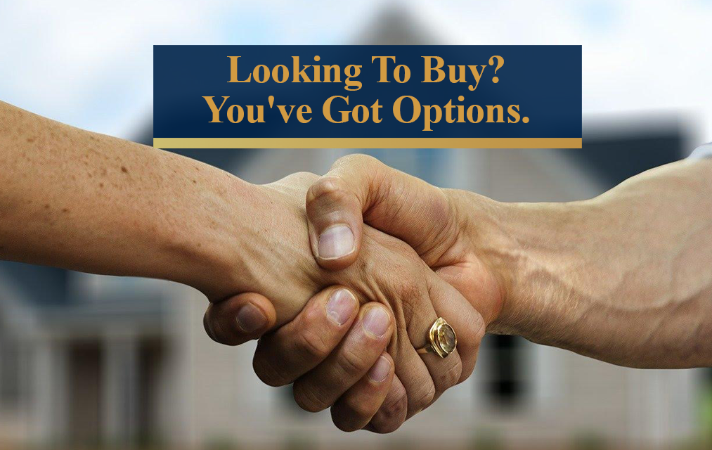 Looking To Buy A Home? You've Got Options