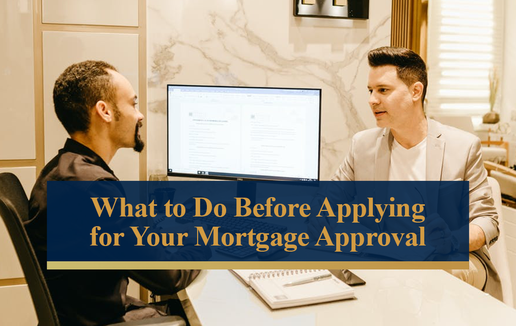 applying for mortgage approval